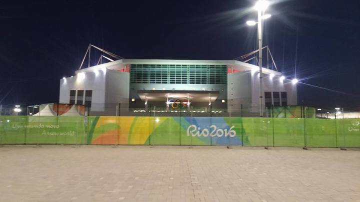 Arena Olímpica na Rio 2016
